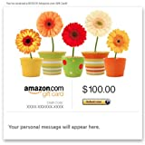 Amazon Gift Card - Email - Flower Pots