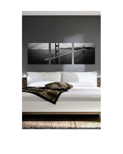 San Francisco Panoramic Giclée Canvas Print Triptych As You See