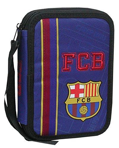 ¡Date un capricho! Plumier de dos pisos pequeño del FC Barcelona