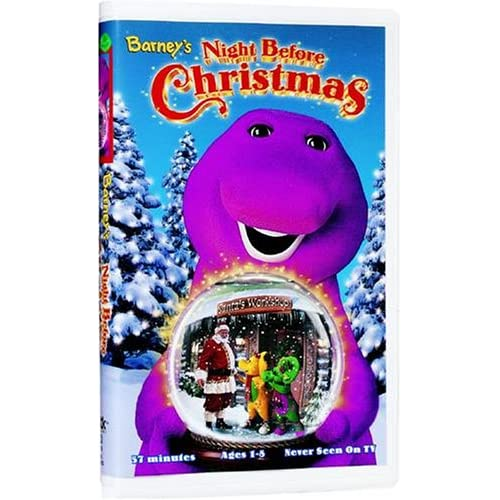 Amazon.com: Night Before Christmas (Spanish) [VHS]: Barney