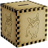 'French Bulldog' Engraved Money Box / Piggy Bank (MB00001635)