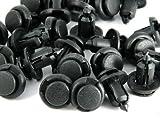 10mm 80 Pcs / Pack Push-type Nylon Bumper Fender Flare Fastener Rivet Clips 91503-SZ3-003 For Honda Accord Civic CR-V CRX Del Sol Element Fit Insight Odyssey Pilot Prelude Ridgeline S2000 Acura CL Integra MDX RDX RL RSX TL TSX