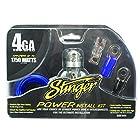 Stinger SK141 1750-Watt 4-Gauge Car Audio Amplifier Accessory Kit