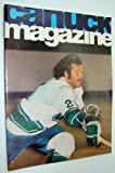 img - for Vancouver Canuck Magazine, October 22, 1974 - Colour Cover Photo of John Gould book / textbook / text book
