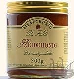 Heide Honig, kaltgeschleudert, unfiltriert, sehr aromatisch, 500g