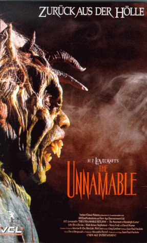 The Unnamable [VHS]