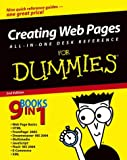 Creating Web Pages All-in-One Desk Reference For Dummies (For Dummies (Computers)) (0764543458) by Vander Veer, Emily A.