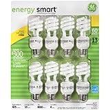 GE 13-Watt Energy SmartTM 60 Watt Replacement - 2 Packs of 8 Bulbs - 16 Total Bulbs