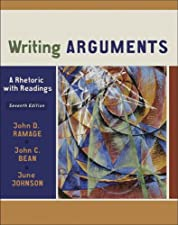 Writing Arguments A Rhetoric with Readings Brief by John D. Ramage