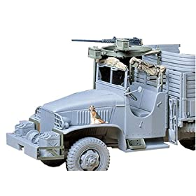 U.S. 2-1-2 ton Cargo Truck Accessories by Tamiya