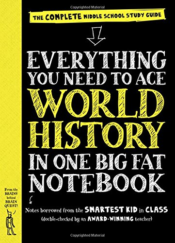 Everything You Need to Ace World History in One Big Fat Notebook: The Complete Middle School Study Guide (Big Fat Notebooks) (Ancient World History Textbook compare prices)