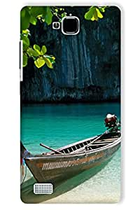 IndiaRangDe Hard Back Cover FOR Huawei Honor 3C