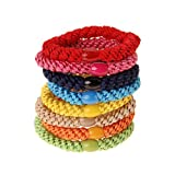 L. Erickson Ponytail Holders - Set of Eight - Resort Pack