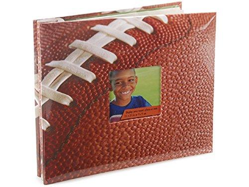 Mbi Sport & Hobby Post Bound Album W/Window 12x12-Football (Football Scrapbook Album compare prices)
