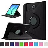"Flip Case Cover For Samsung Galaxy Tab S2 9.7"" Inch , PU Leather 360 Degree Rotating Flip Case Cover For Samsung..."