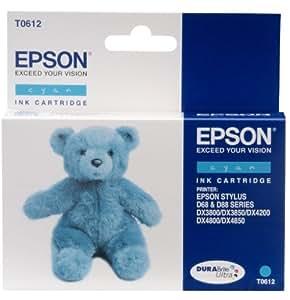 EPSON T0612 - Cartouche d'encre - Cyan