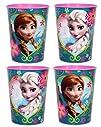 Disneys Frozen ~ Set of 4 Plastic Sta…