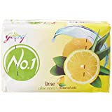 Godrej No.1 Soap, Lime And Aloe Vera, 100g (Pack Of 4)