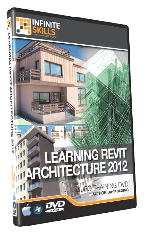 Learning Revit Architecture 2012  Training DVD - Video Tutorial (PC/Mac)