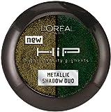 L'Oreal Paris Hip Studio Secrets Professional Metallic Duos, Gunmetal, 0.08 Ounce (Pack of 2)