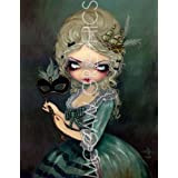 """Marie Masquerade by Jasmine Becket-Griffith 10""""x8"""" Art Print Poster by Bruce McGaw"""