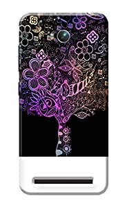Kanvas Cases Printed Back Cover For Asus Zenfone Max Zc550Kl (Multi-Coloured) With Mobile Viewing Stand