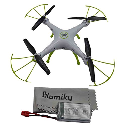 Blomiky-Syma-X5HC-Altitude-Hold-Mode-Camera-RC-Drone-RC-Quadcopter-Extra-1-Battery-X5HC-White