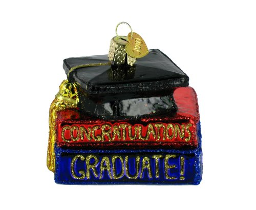Old World Christmas Congrats Graduate Ornament