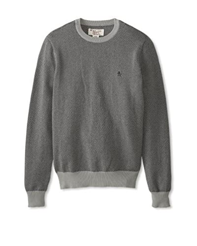 Original Penguin Men's Long Sleeve Crew Neck Sweater
