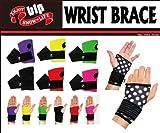 【blp】リストガード WRIST BRACE フリーサイズ 左右セット bl988 (PNK(ピンク))