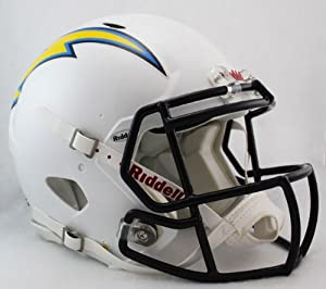 NFL San Diego Chargers Speed Authentic Football Helmet by Riddell