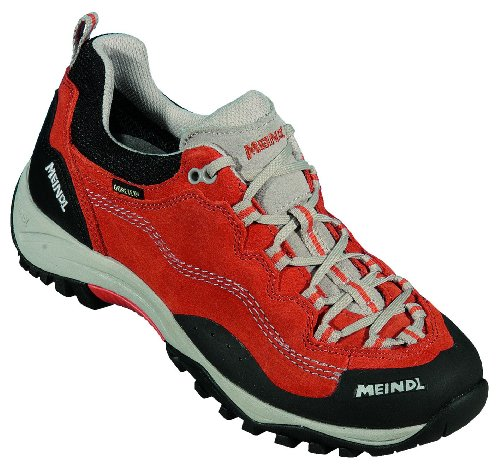 Meindl per passeggiate-trekking pelle scamosciata, Gore Tex, Air Active base letto, , (orange/sand Texas Lady Pro GTX), 3.5