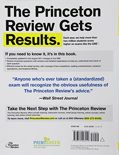 Verbal Workout for the New GRE (Princeton Review: Verbal Workout for the GRE)