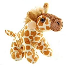 ZSL - Minis Lifelike Soft Toy Giraffe