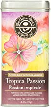 The Coffee Bean & Tea Leaf Tropical Passion Tea Bags, 20 Count Tin, 70g