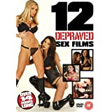 Twelve Depraved Sex Films, 12 film boxset [DVD]