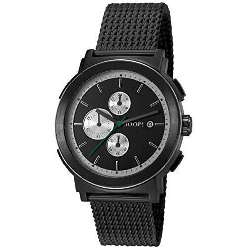 Joop! Tom JP101451008 - Reloj para hombres, correa de acero inoxidable color negro