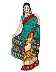 Designer Sari Beautiful Printed Casual Wear Faux Georgette Saree By Triveni