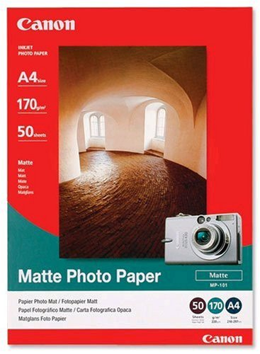 Canon MP101 Matte Photo Paper (A4, 170GSM, 50 Sheets)