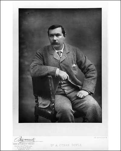 Photographic Print of Sir Arthur Ignatius Conan Doyle from National Portrait Gallery