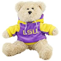 "LSU Tigers 8"" Fuzzy Hoody Bear by Forever Collectibles"