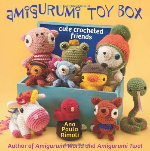 Amigurumi Toy Box: Cute Crocheted Friends front-958413