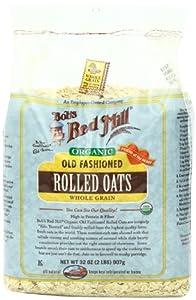 Bob's Red Mill Organic Oats Rolled Regular, 32-Ounce