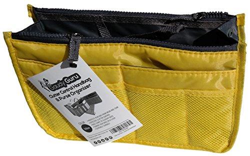 Gaudy Guru (TM) Clutter Control Handbag & Purse Organizer Insert (11.3