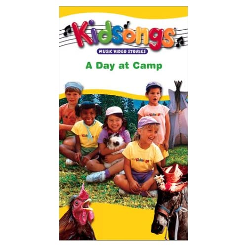 Amazon.com: Kidsongs: A Day at Camp [VHS]: The Kidsongs Kids, Bruce