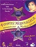 echange, troc Marlene Jobert - Coffret quatre plus beaux contes du monde (Aladin, Le Livre de la jungle, Pinocchio, La Belle au bois dormant) avec 2 CD