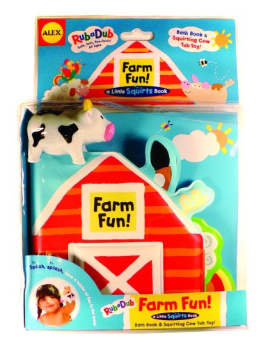 Farm Fun!: Bath Book and Squirting Tub Toy (Little Squirts) (Bath Book)