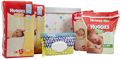 Huggies Little Snugglers Diapers & Wipes Bundle - Newborn - 1
