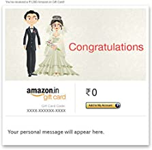 Congratulations (Christian Wedding) - Email Amazon.in Gift Card