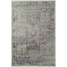 Safavieh Vintage Collection VTG127-2111 Amethyst Area Rug, 2 feet 7 inches by 4 feet (2\'7\